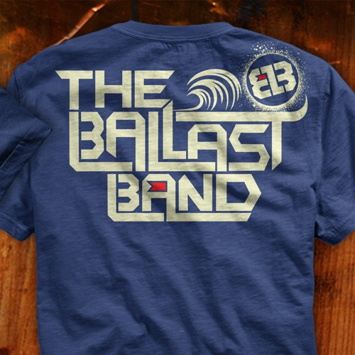 Create a T-Shirt for The Ballast Band