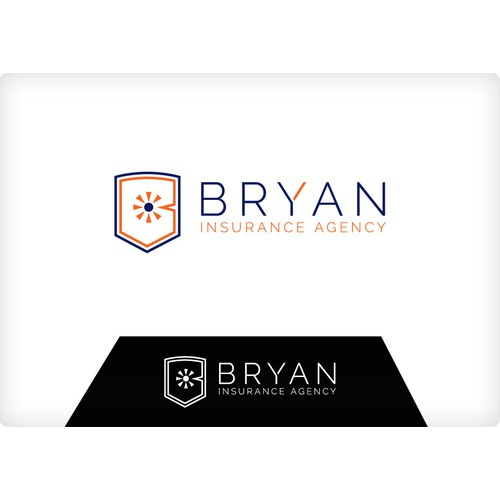Logo redesign for a young fresh insurance agency