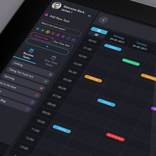 Ipad App Concept