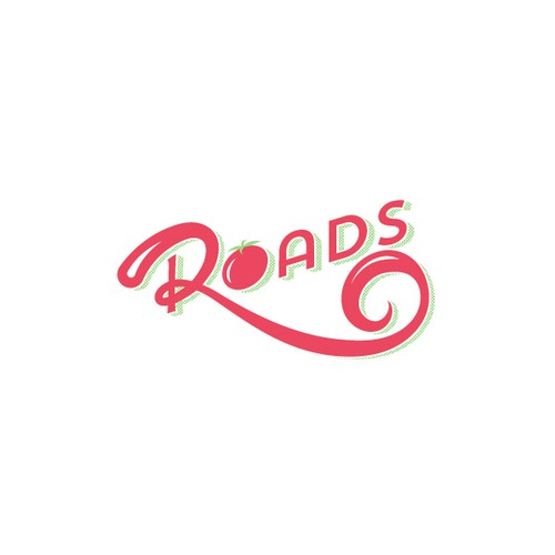"Food Truck ""Roads"" Logo Concept"