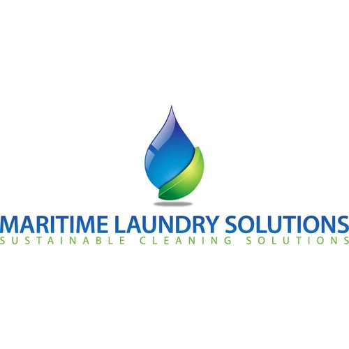A new logo for a new commercial laundry company