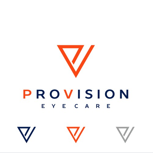 Logo design for ProVision Eye Care