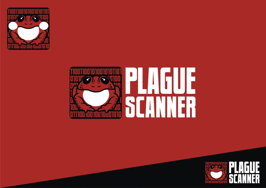 Create a awesome brand identity for PlagueScanner