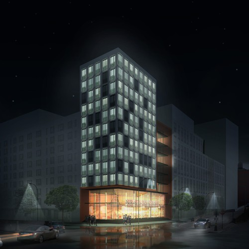 Rendering - Nike comes to Bronx