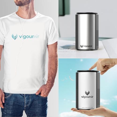 Simplistic Logo For VigourAir