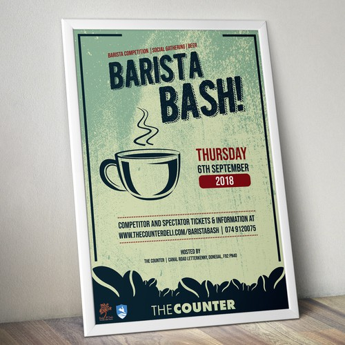 Poster design for The Counter