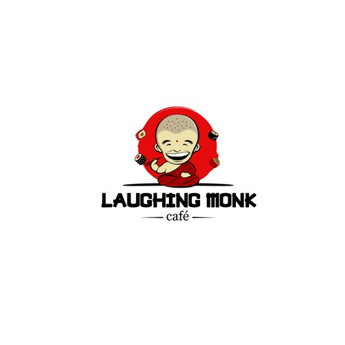laughing monk