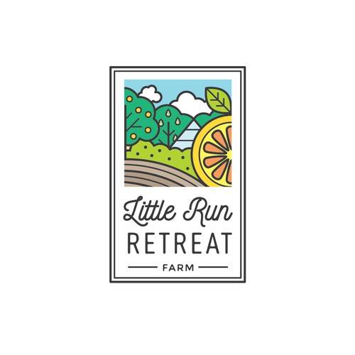 Logo for Little Run Retreat Farm