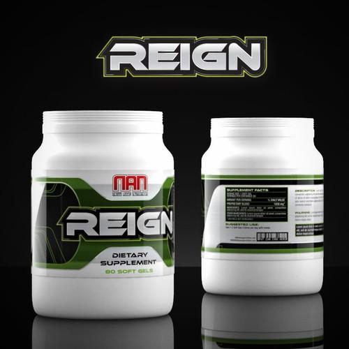 Reign label design