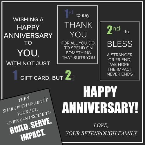 Employee Anniversary Gift Piece