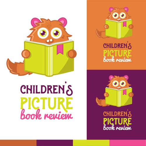 Logo design for children's book review
