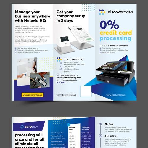 Discover Data Tri-Fold Design