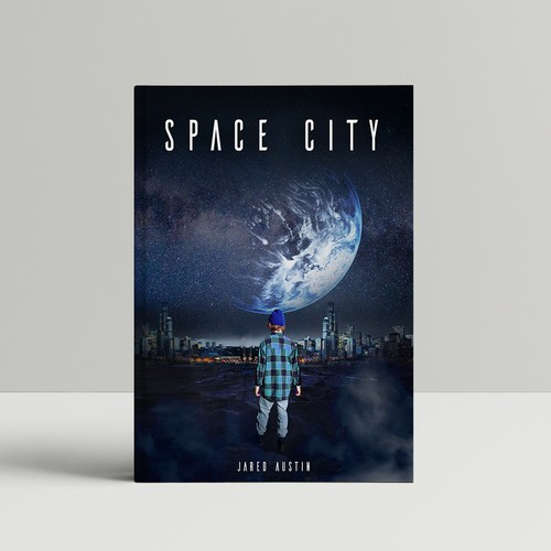 Space City, book cover