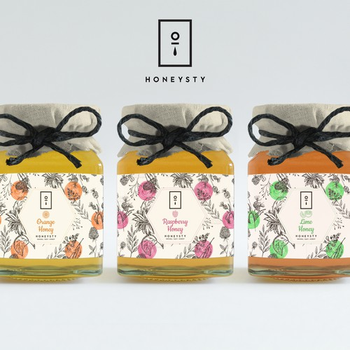 Honeysty Packaging Design