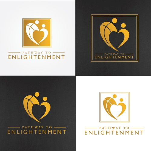 Design a logo of love and relationships.