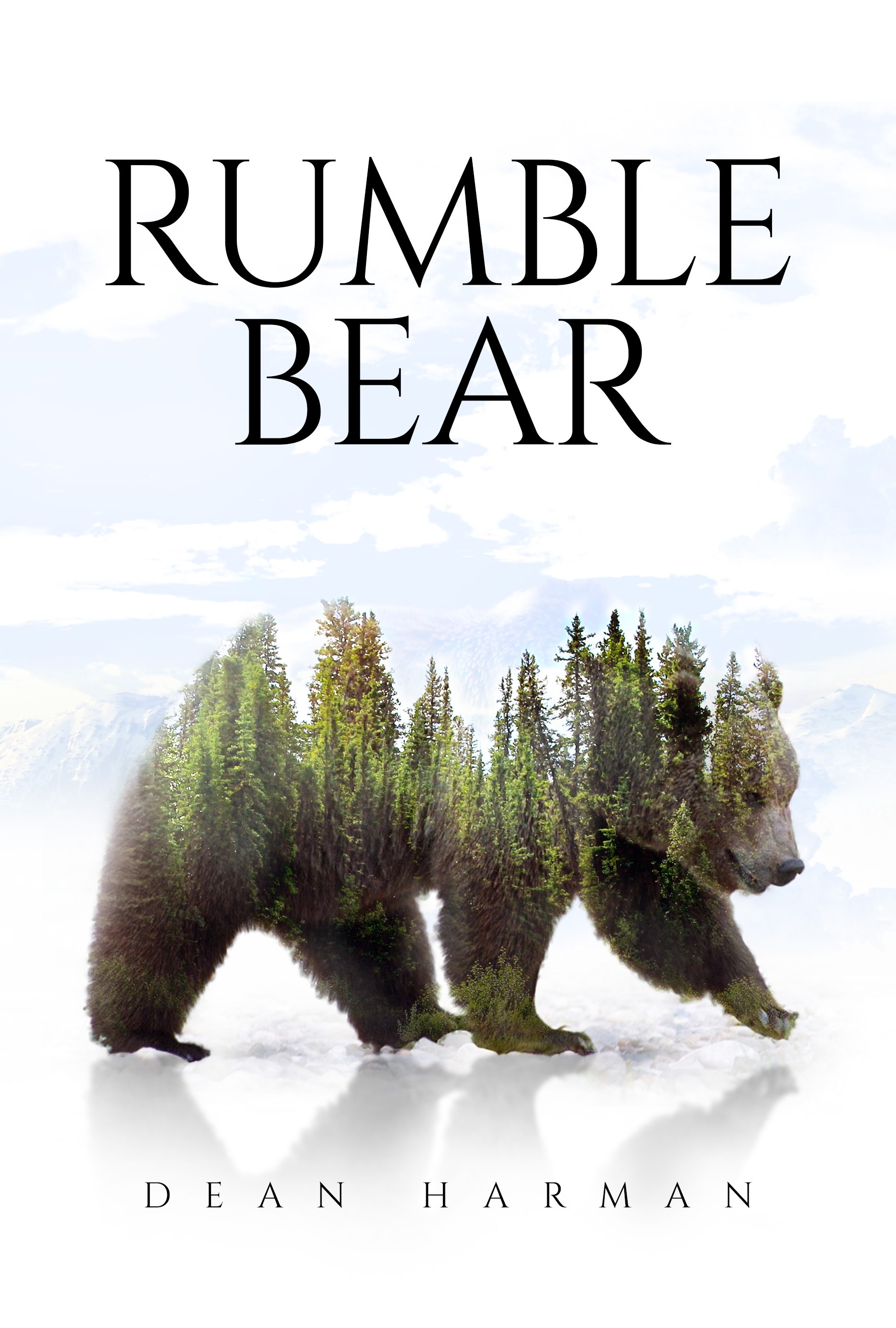 """Grizzly Bear Book Cover """"Rumble Bear"""""""