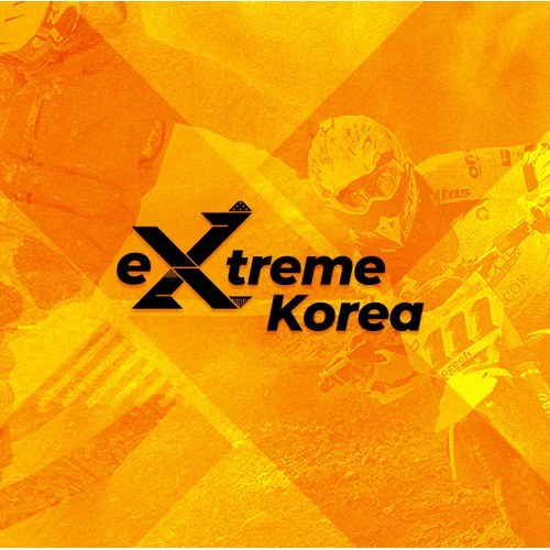 eXtreme Korea logo design