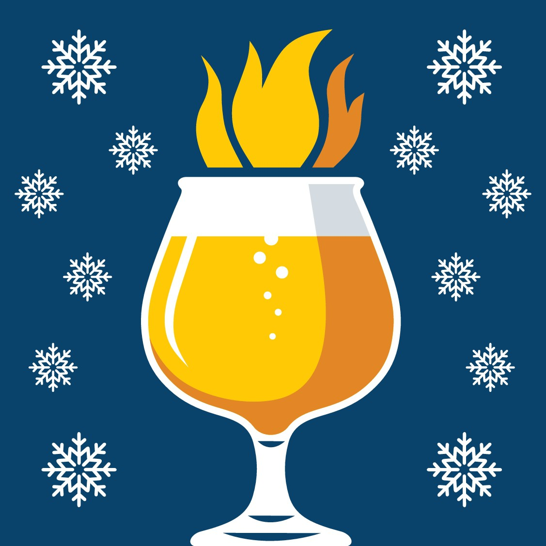 8th Annual Brewers of Indiana Guild Winterfest logo