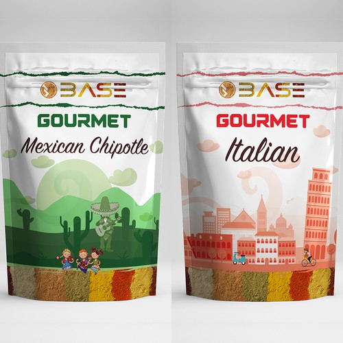 Base Spice Packaging