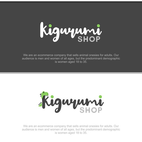 Bold Logo Concept for Kigurumi Shop