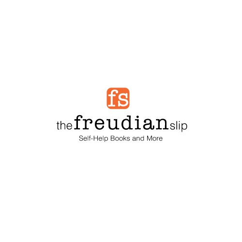 Create an urban logo for The Fruedian Slip; a fun self-help book store in an eclectic neighborhood..