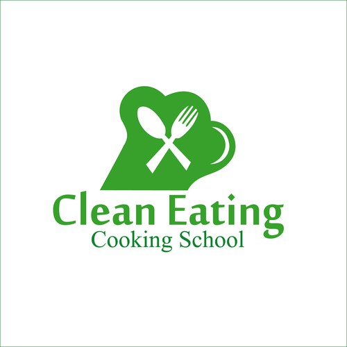 Logo for cooking school