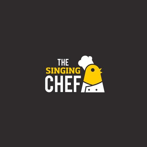 Clean logo design for a restaurant