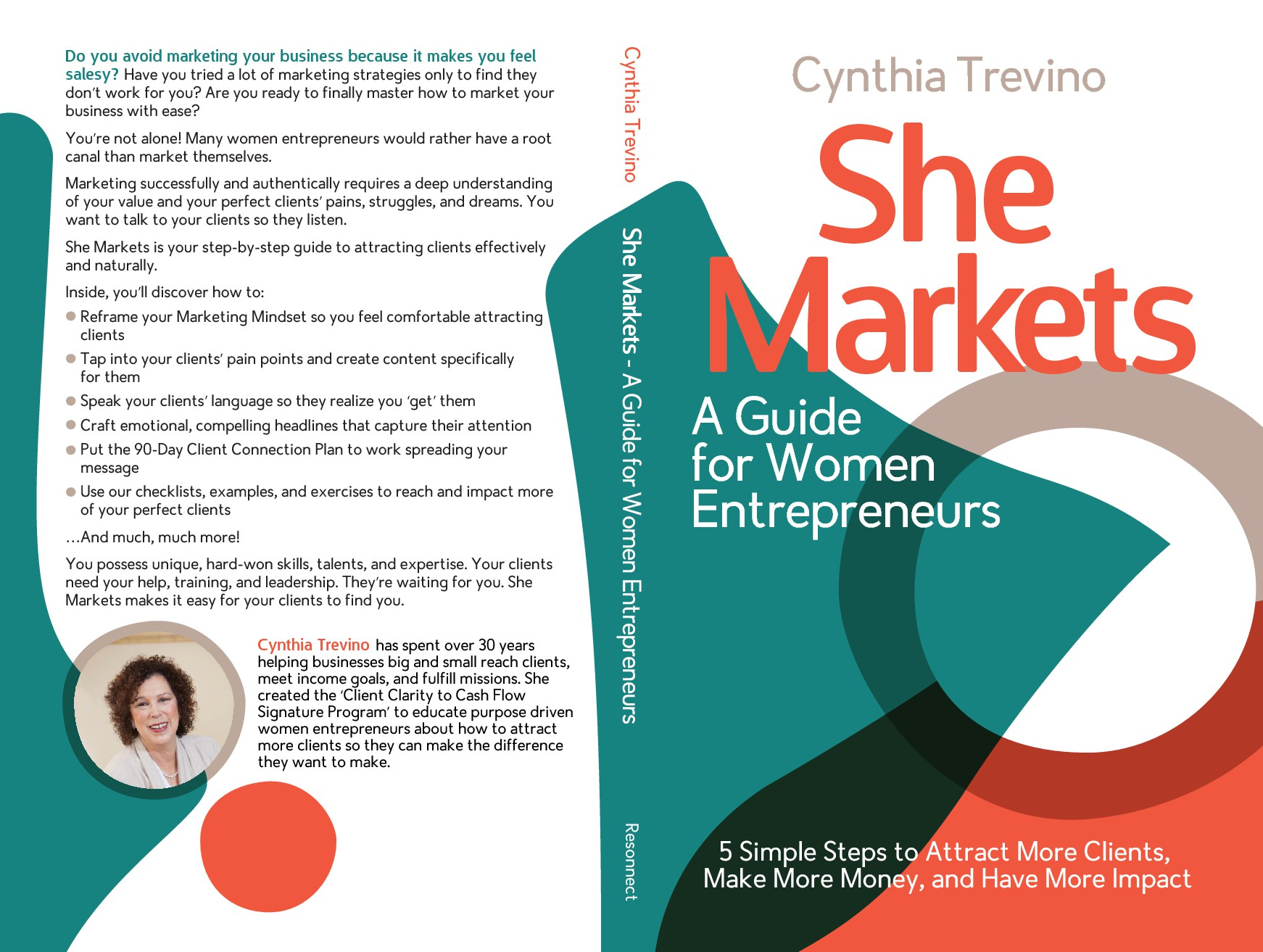 Book cover to attract women entrepreneurs