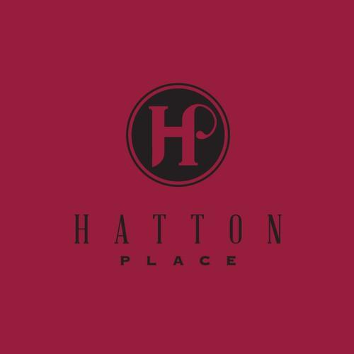 Luxurious logo for a housing development.