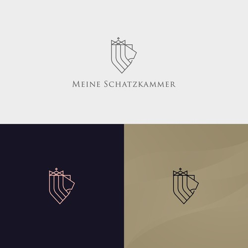 logo for precious metal selling and storage company