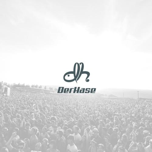 Erstellt ein Logo für DerHase, das cool und eingänglich ist!