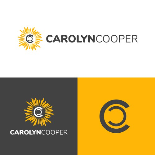 Design a non-cheesy logo with the double letter Cs in my name
