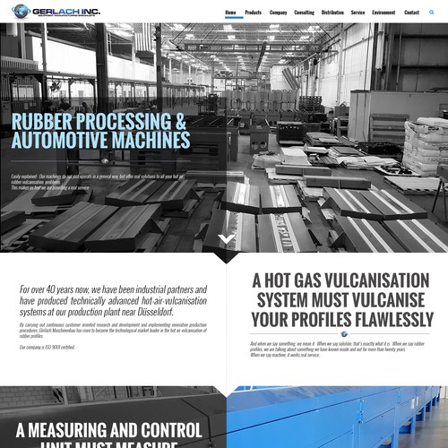 Rubber processing website