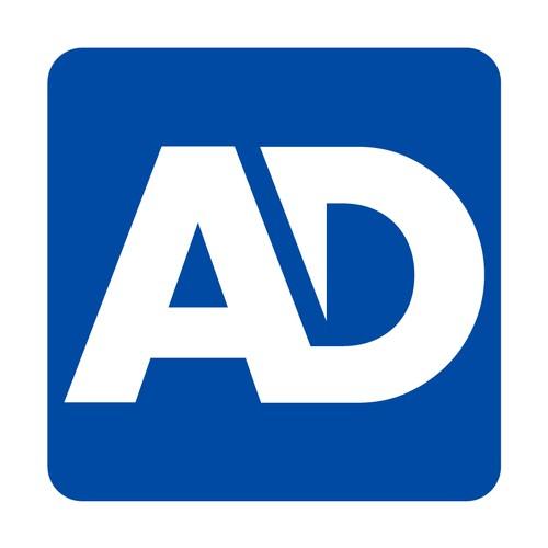 A & D initials