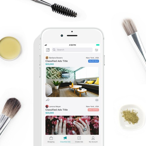 iOS Lifestyle Beauty App