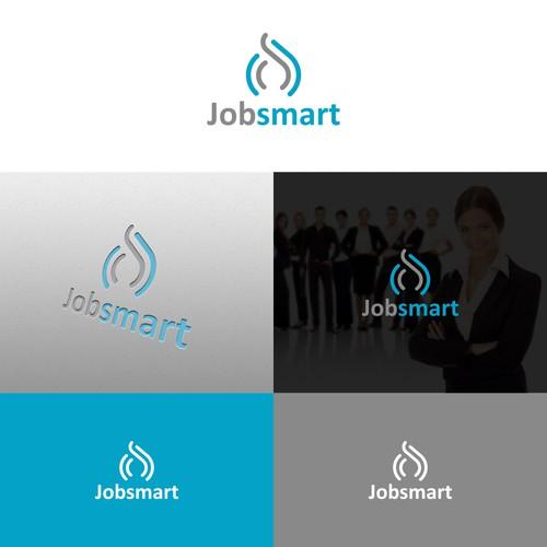 Geomatric logo Concept For JobSmart Company