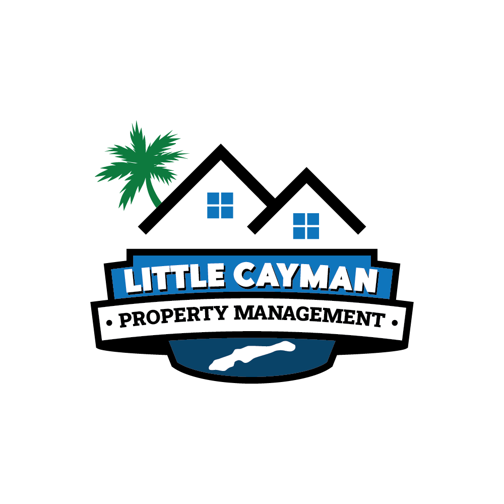 Professional but fun logo for a property management company in the tropics