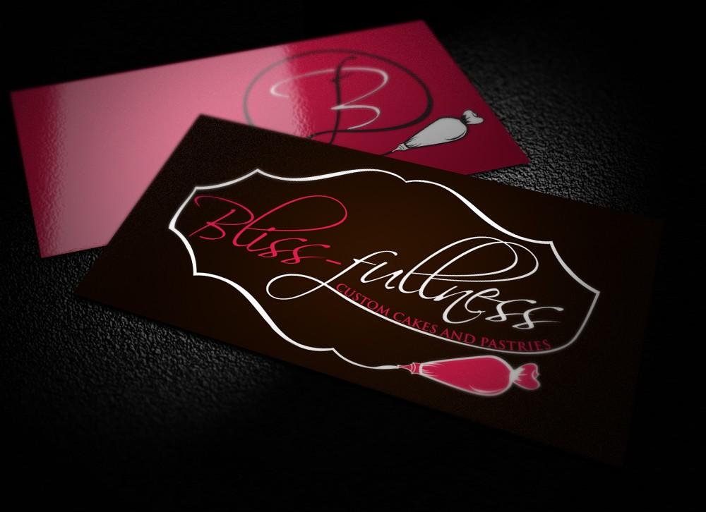 logo for Bliss-fullness Custom Cakes