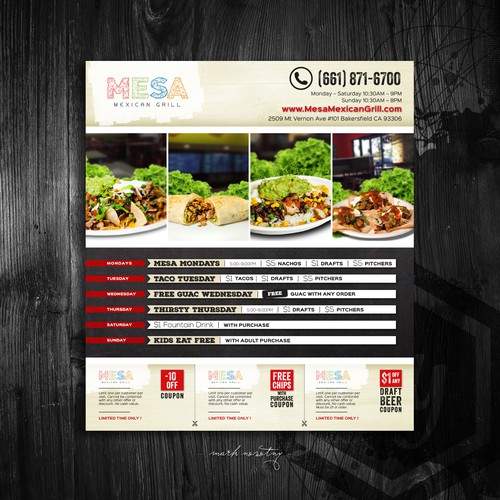 mesa - mexican grill