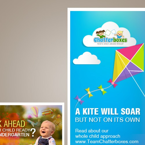 Create Emotional Re-Marketing Web Ads for Chatterboxes!