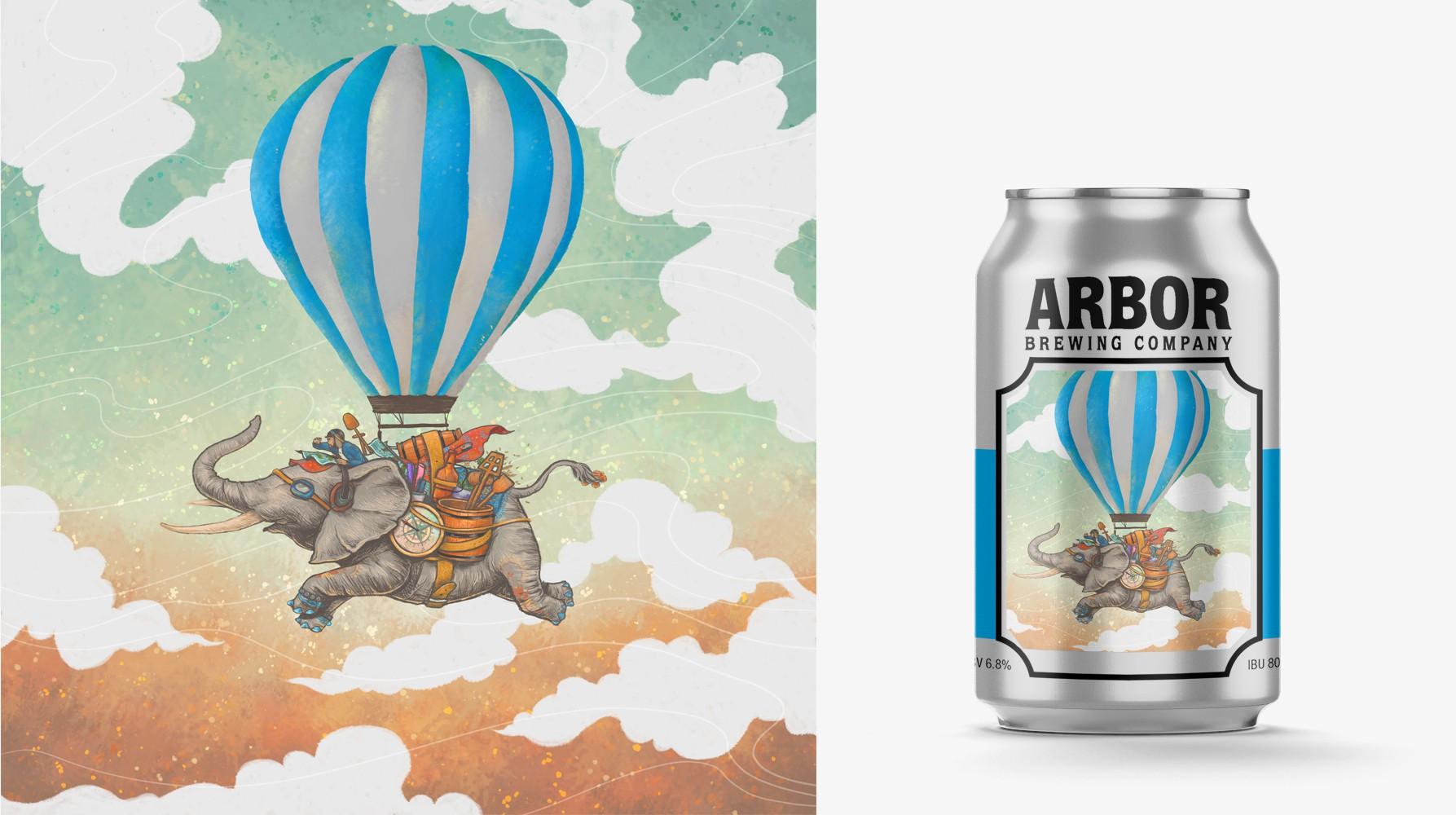 more beer label artwork