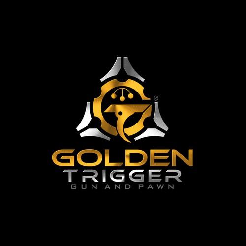 Logo design for Golden Trigger