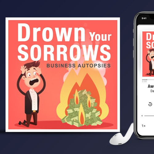 Drown Your Sorrows Podcast cover art
