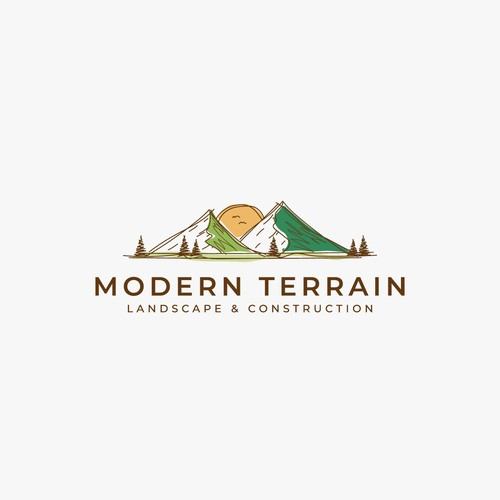 Modern design in the landscaping/construction field
