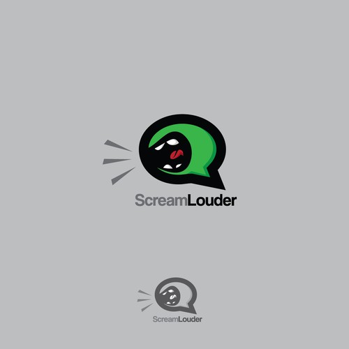ScreamLouder needs a kick a** logo!