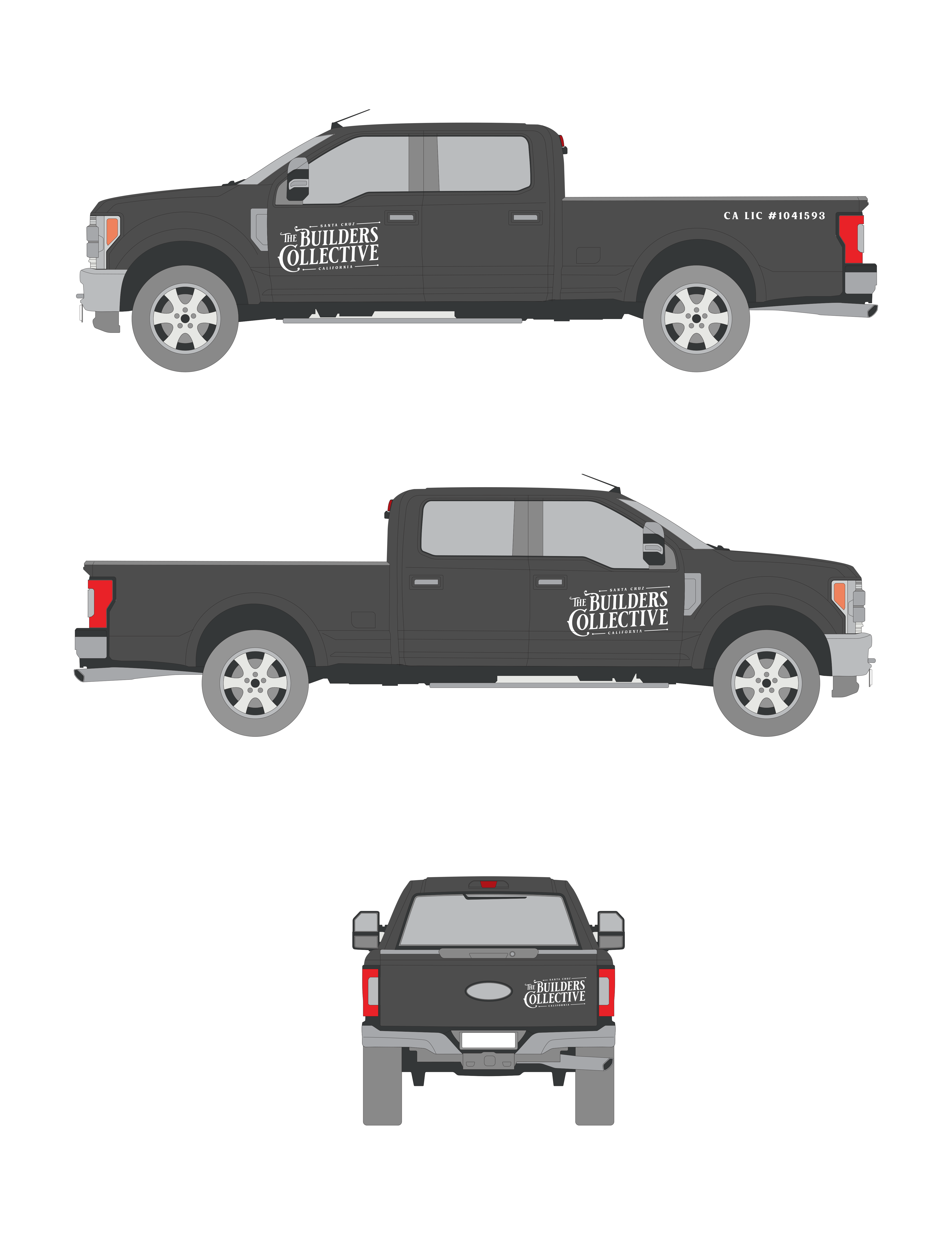 Wrap design for Ford F250