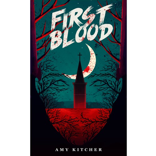Amazing Book Cover of First Blood