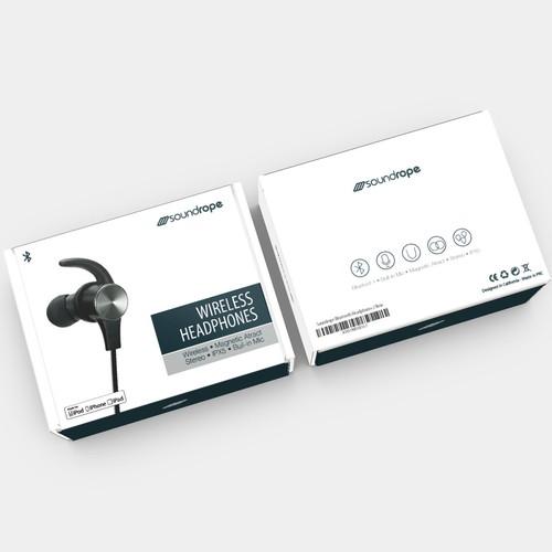 Bold Box for Wireless Headphones