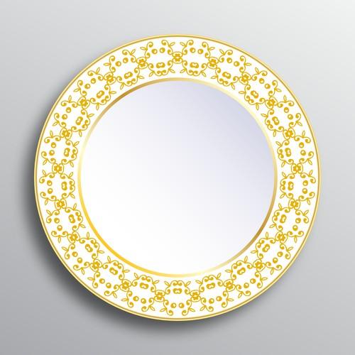 Gold Plate Design