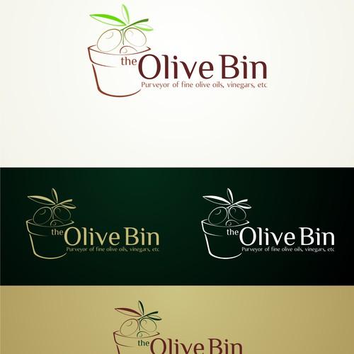 Olive + Bin logo